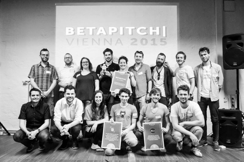 betapitch | Vienna 2015 jury members and finalists - credit: Manuel Gruber