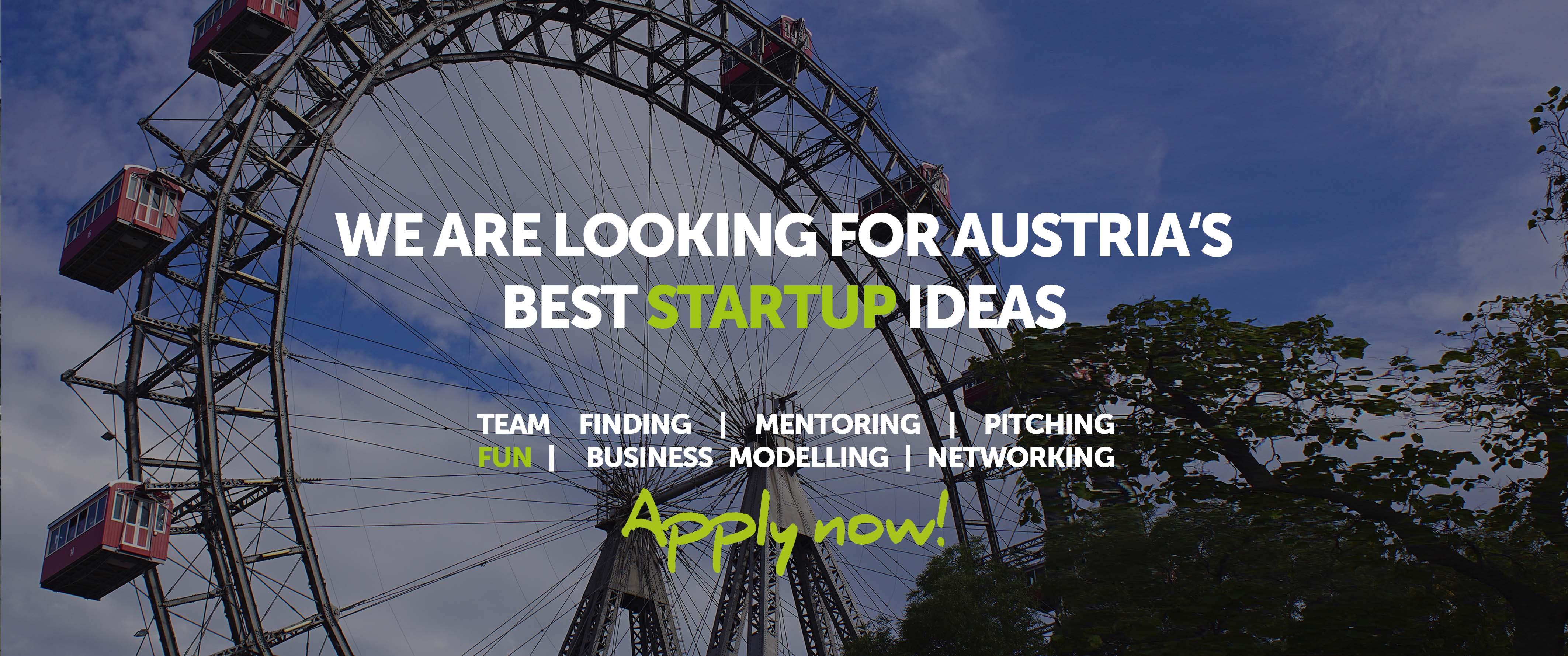 startup Live Vienna #16 apply now