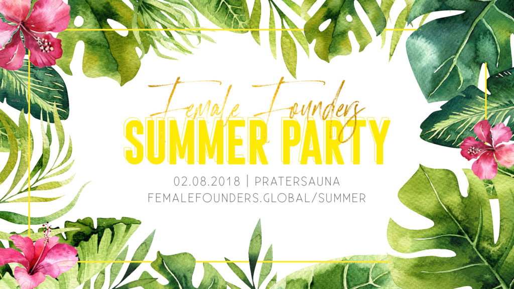 Startup Summer Party by Female Founders