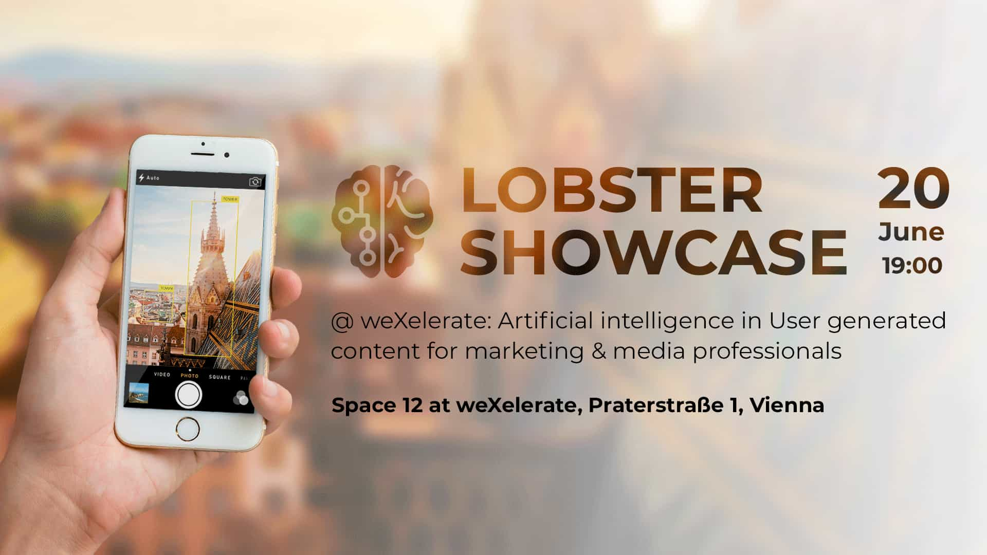 Lobster Showcase at WeXelerate: AI in UGC for marketing